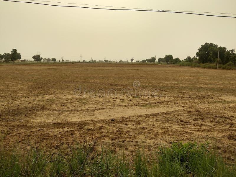 Rolnictwa pole po zbierać zdjęcia royalty free