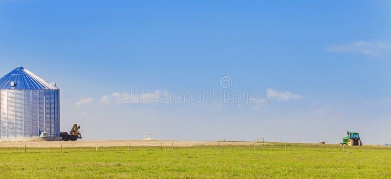 Rolnictwo w książe George kolumbiach brytyjska fotografia stock