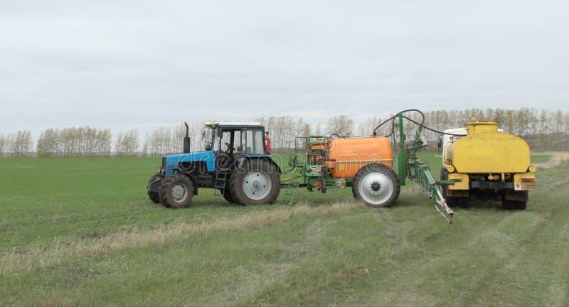 Rolnicza praca fotografia stock