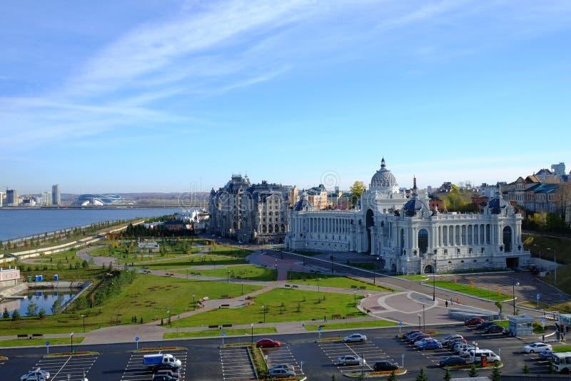 Rolniczy pałac, Kazan Kremlin, Kazan Rosja obraz stock