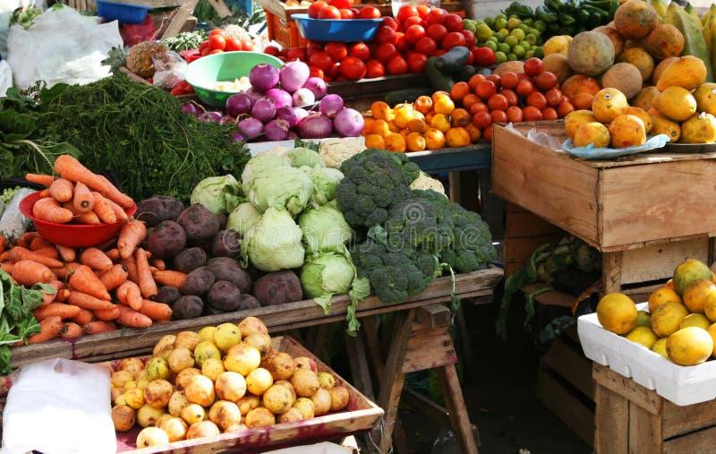 rolnik jest rynku obrazy stock