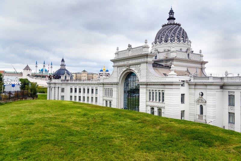Rolnika pałac w Kazan Rosja zdjęcie stock