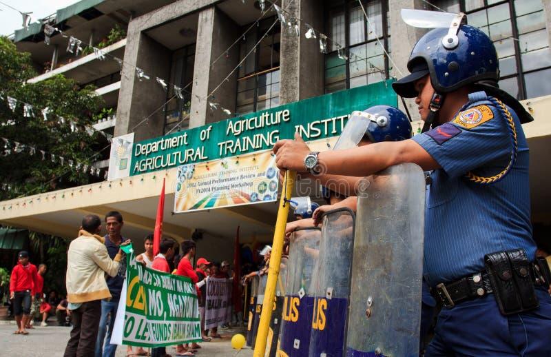 Download Rolnika Protest W Manila, Filipiny Obraz Editorial - Obraz złożonej z przesunięty, eventide: 28961215