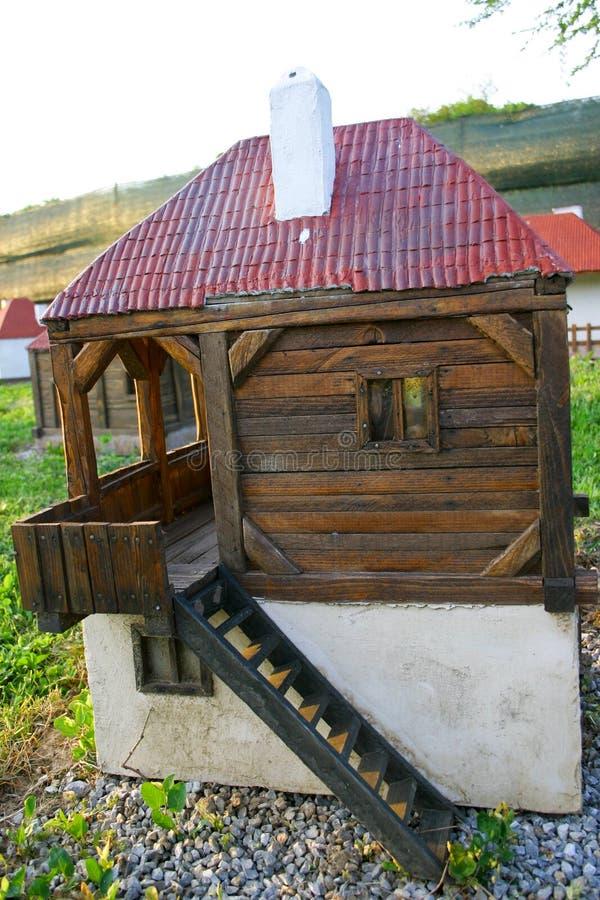 rolny domu miniatury miejscowego serbian fotografia stock
