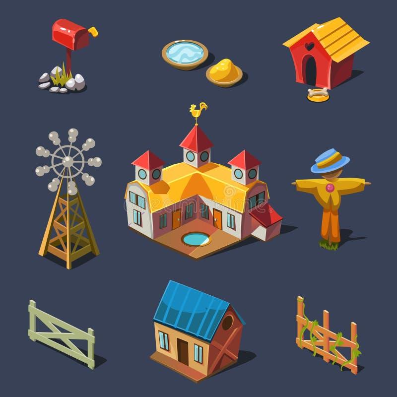 Download Rolny Duży Set Projektów Elementy W Nowożytnym Mieszkaniu Ilustracja Wektor - Ilustracja złożonej z ilustracje, elewacja: 53782357