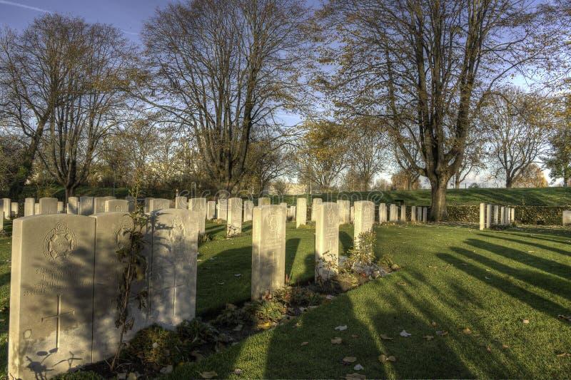 Rolny Essex Cmentarz obrazy royalty free