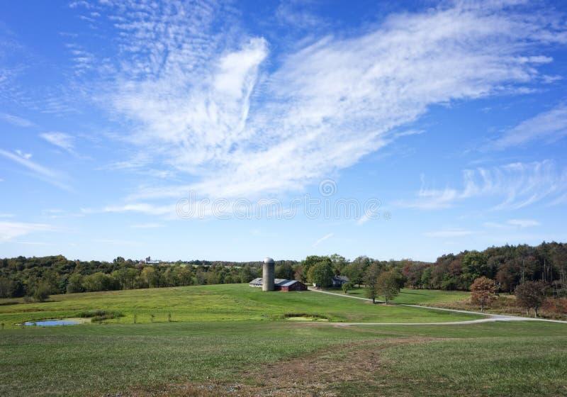 rolny krajobrazowy wiejski fotografia stock