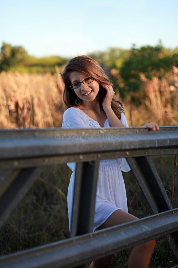rolny nastolatek fotografia royalty free