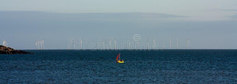 rolny wiatr obraz stock