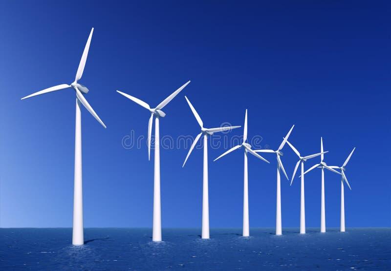 rolny wiatr fotografia stock