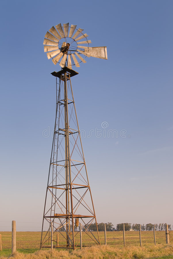 rolny wiatraczek obrazy stock