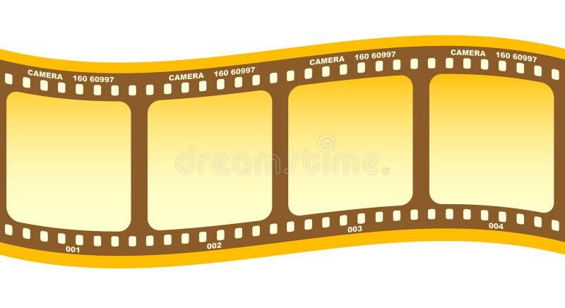 Rolo da película ilustração stock