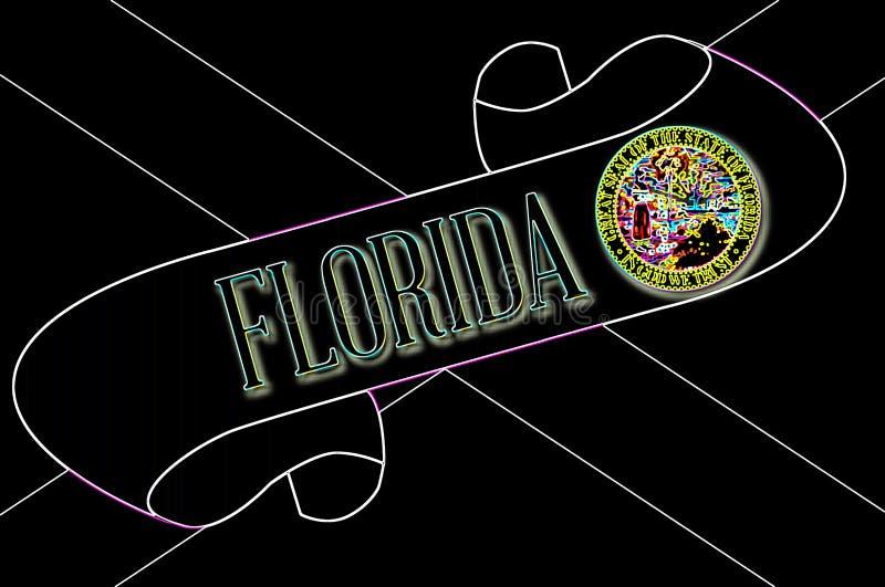 Rolo de Florida ilustração royalty free