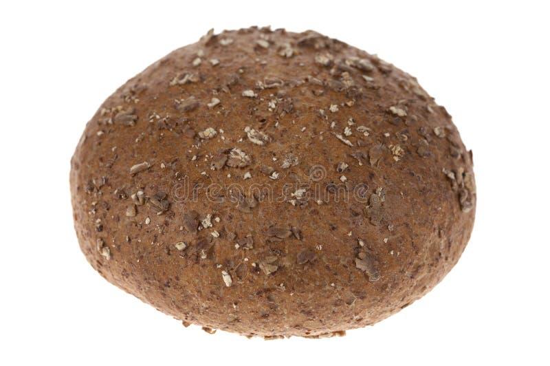Rolo de pão do Wholemeal fotografia de stock royalty free