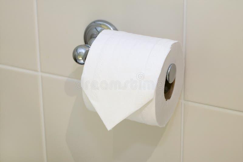 Rolo de toalete foto de stock
