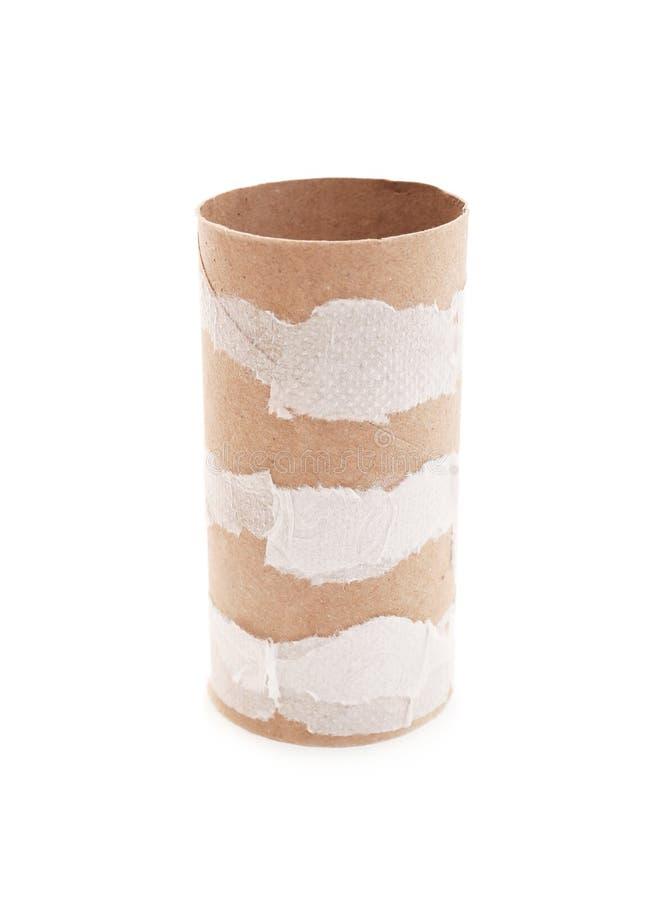 Rolo de toalete de papel vazio foto de stock royalty free