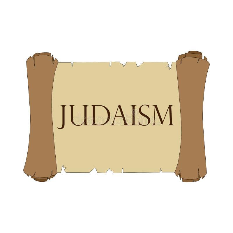 Rolo de Torah ilustração royalty free