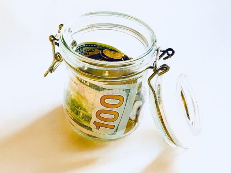 Rolo do dinheiro imagem de stock royalty free