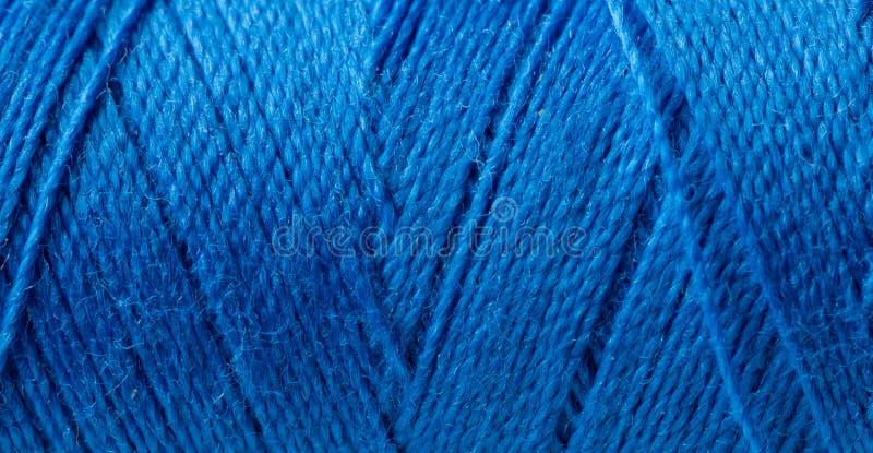 Rolo do fio azul. fotos de stock