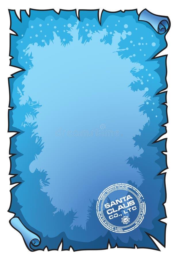 Rolo do Natal ilustração do vetor