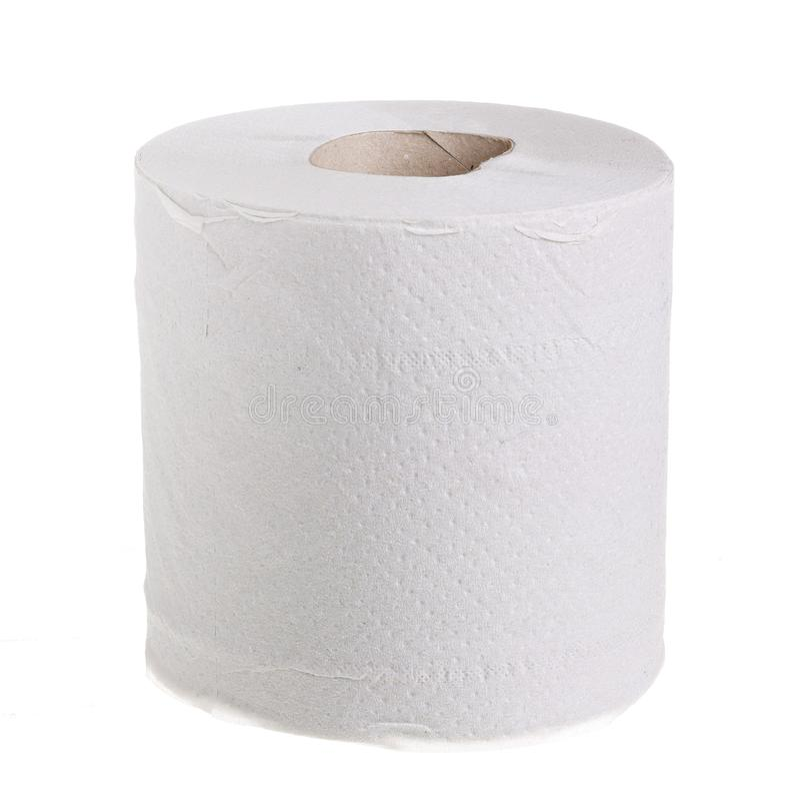 Rolo do papel higiénico fotos de stock royalty free