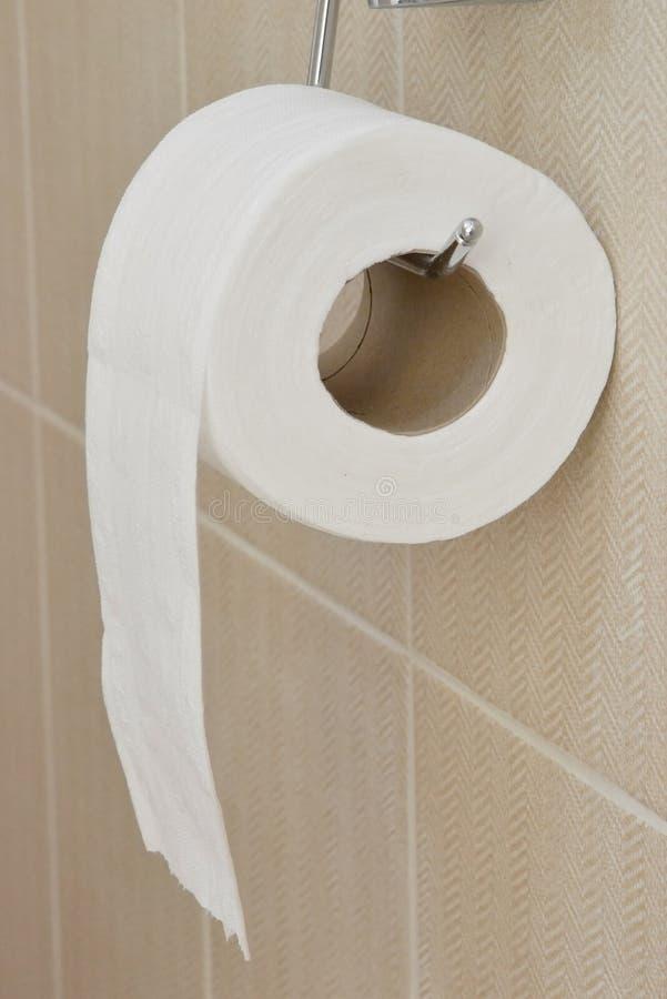 Rolo do papel higi?nico fotos de stock