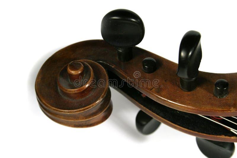 Rolo do violoncelo imagens de stock