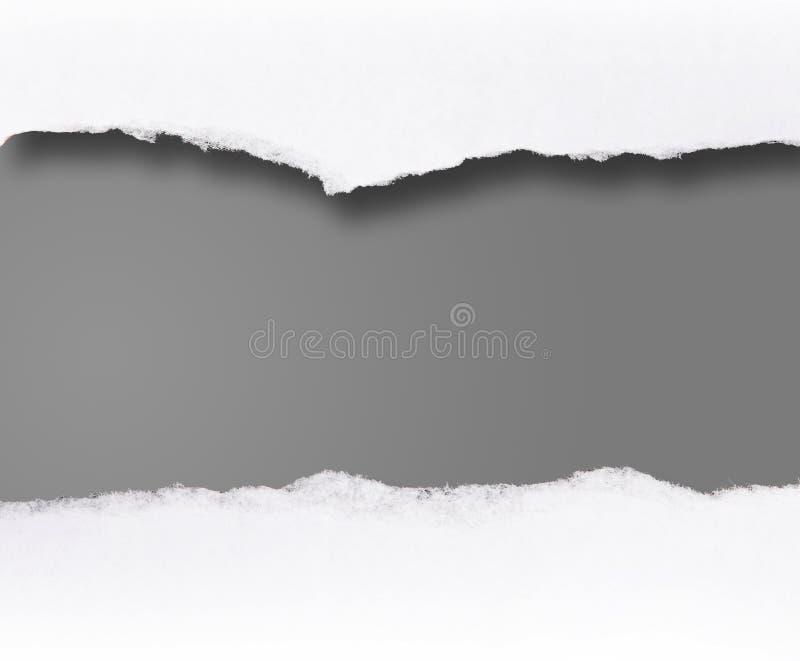 Rolo em branco da mensagem fotografia de stock
