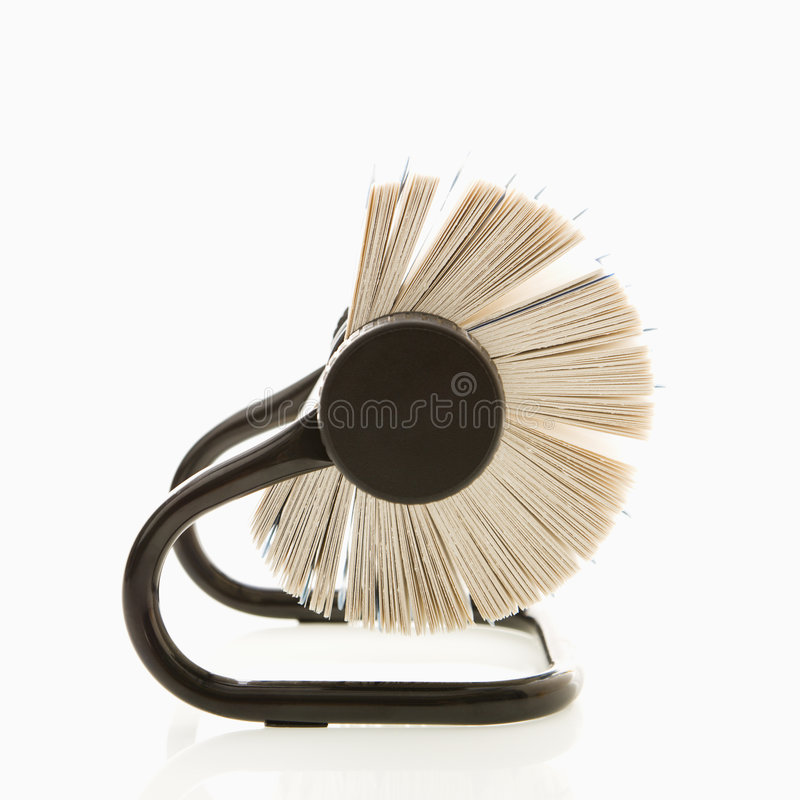 Rolodex. royalty free stock images