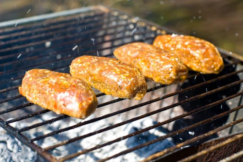 Rolos de Kebab fotografia de stock royalty free