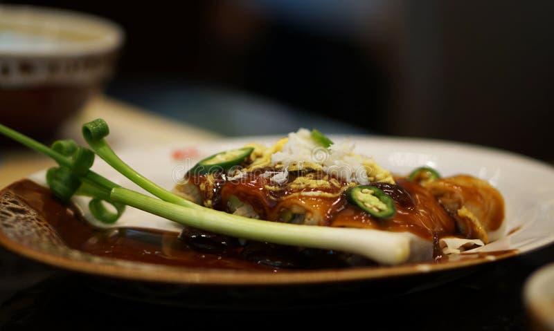 Rolos de mola do vegetariano fotografia de stock royalty free