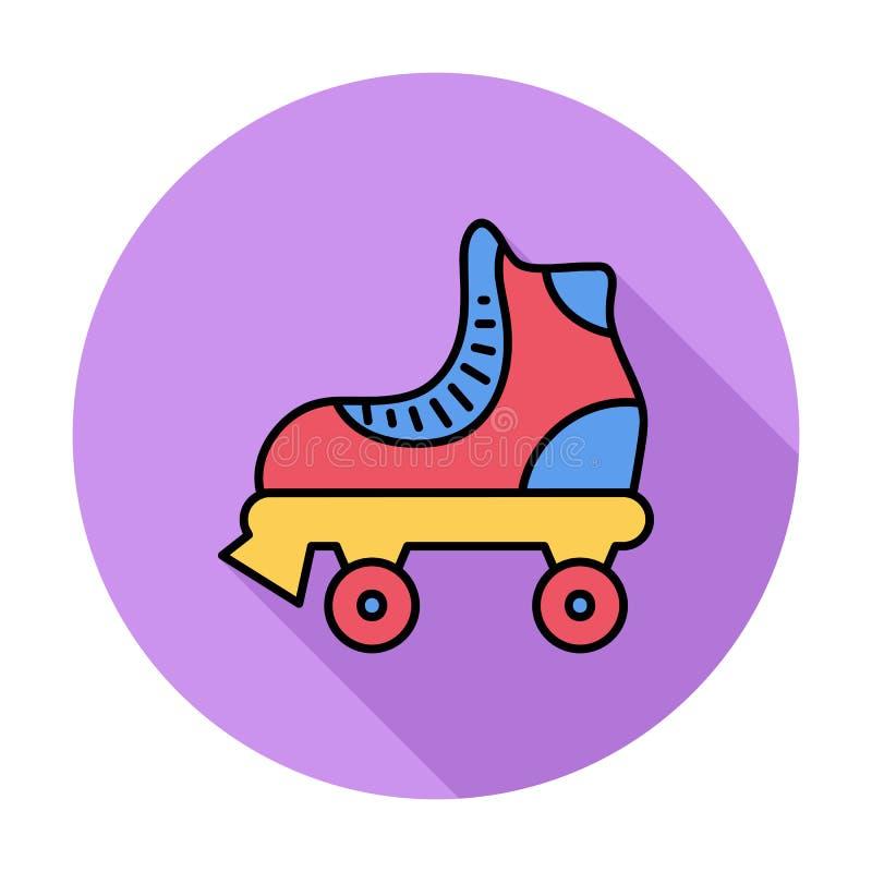 Rolschaats vector illustratie