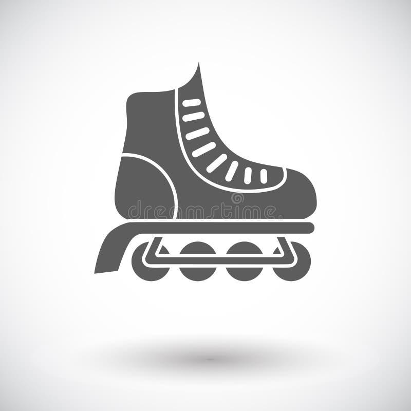 Rolschaats stock illustratie