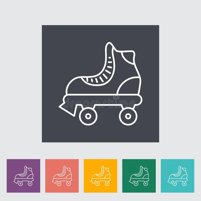 Rolschaats royalty-vrije illustratie