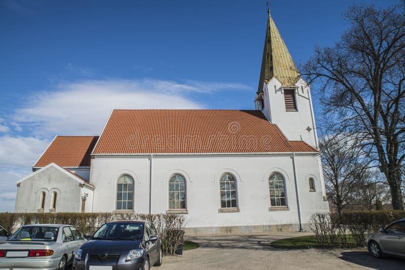 Rolvsøy kościół (północ) zdjęcie stock