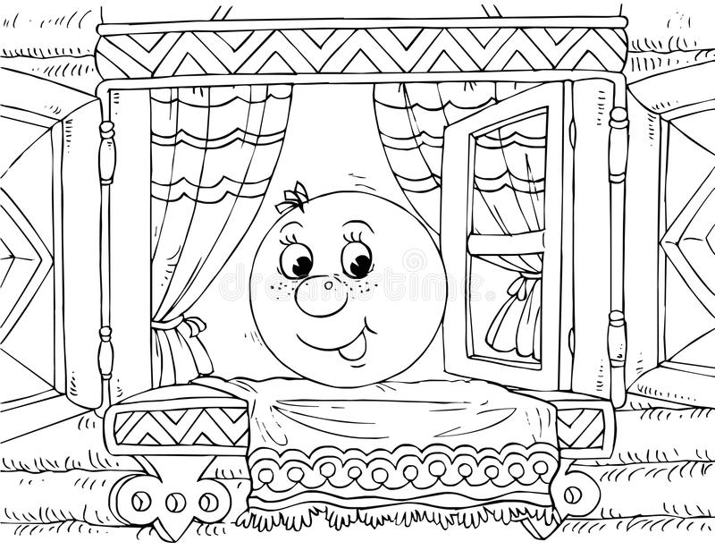 Download Roly-Poly (nursery Tale Character) Stock Illustration - Image: 14555820