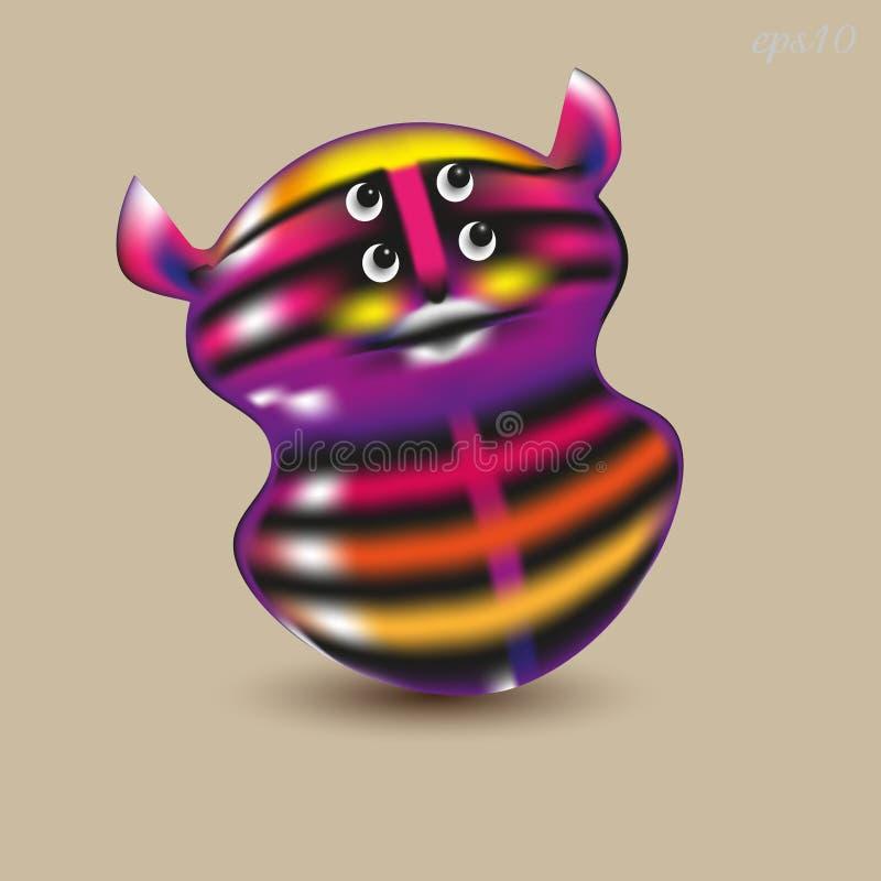 Roly Poly Toy illustration de vecteur