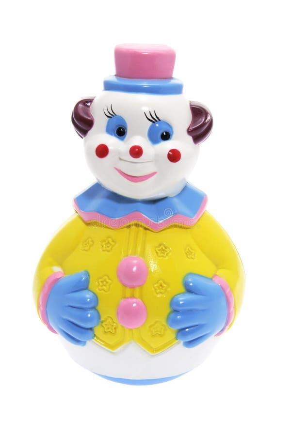 Roly Polyspielzeug-Clown lizenzfreie stockbilder