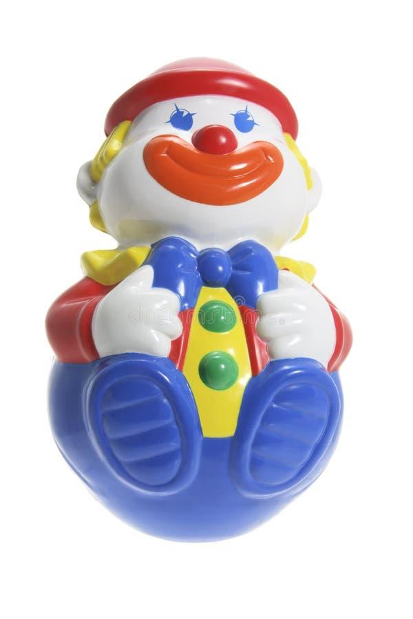 Roly-Polyspielzeug-Clown stockfotografie