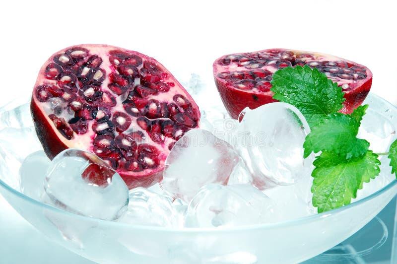 Romã do Refrigerant fotos de stock