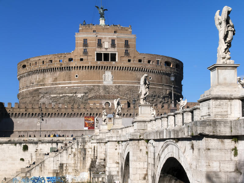 rom Castel Sant-` Angelo stockbild