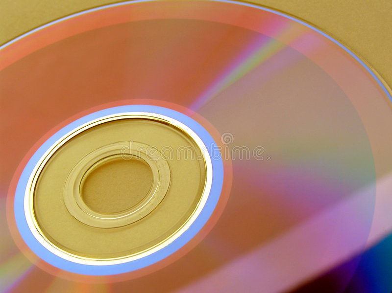 ROM CD fotografia stock libera da diritti