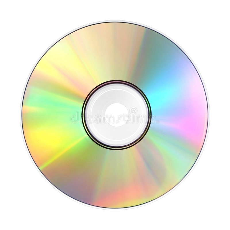 ROM Cd imagem de stock royalty free