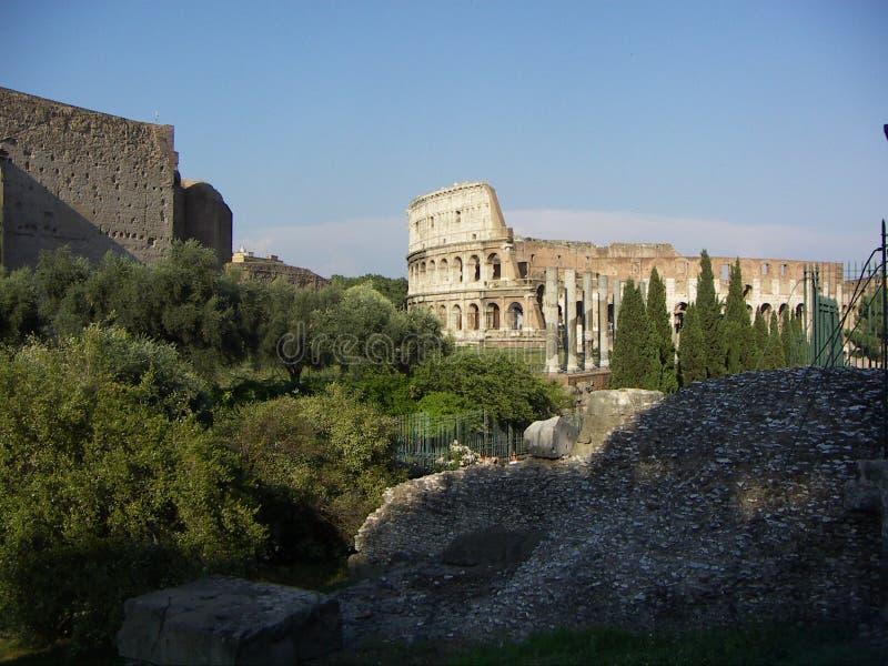 Rom-historische Gebäude lizenzfreie stockfotos