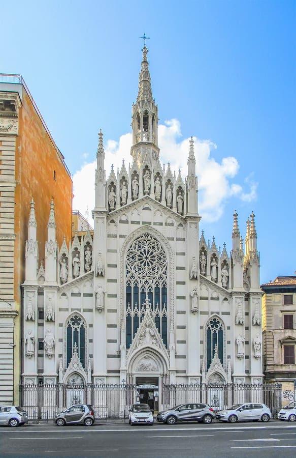 Rom, Italien - 24. Juli 2017: Kirche des heiligen Herzens von Jesus in Prati, Rom, Italien stockfotos