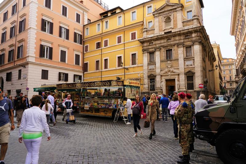 Straßen In Rom