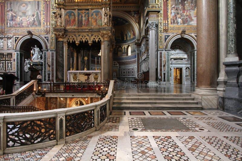 Rom - Johannes Lateran stockfotografie