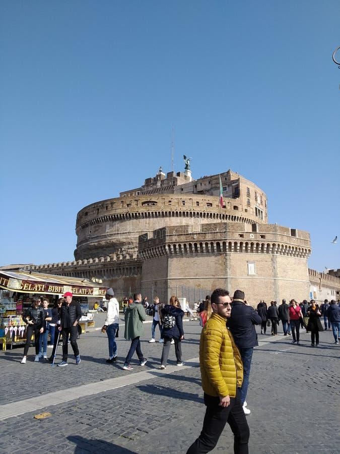 Rom-Schloss lizenzfreies stockfoto