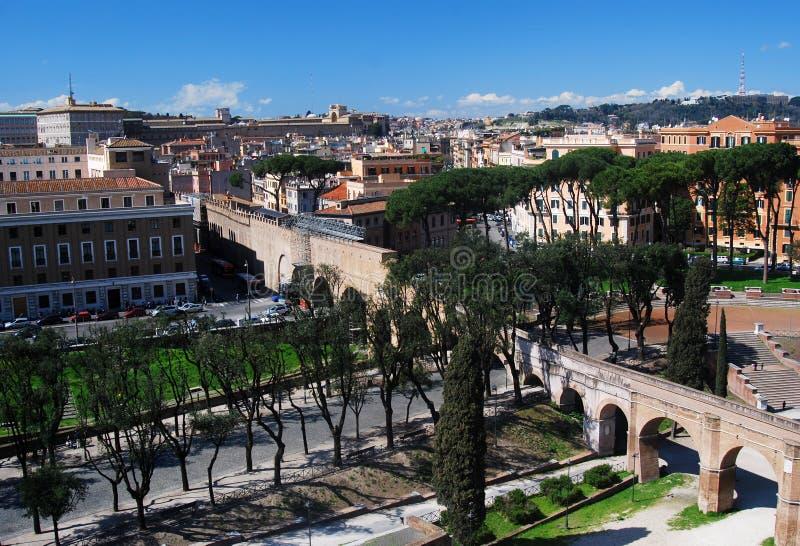 Rom-Stadtbild (Italien/Italien) stockfotografie