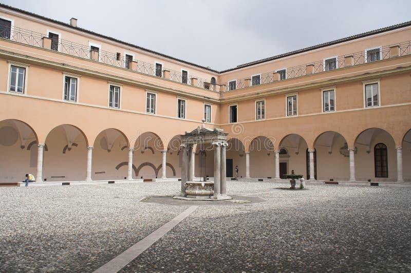 Rom - Universität lizenzfreie stockfotos